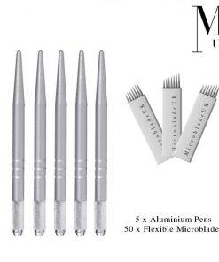 Microblades - Premium Blades for SPMU Microblading Tattoo - Flexible CF / U
