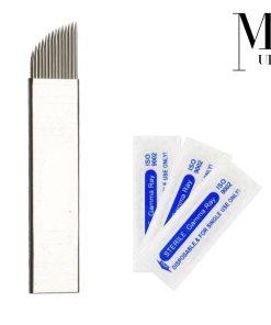 Microblades Microblading Needles Premium Blades for SPMU Tattoo Steel CF F