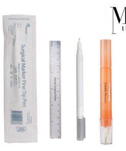 Microblading Skin Marker & Eraser Pen Sterile SPMU Permanent Makeup Ruler Set