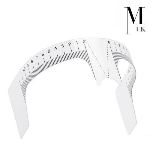 Microblading Ruler - Brow Stencil - Brows On Fleek Guide - Professional Eyebrows