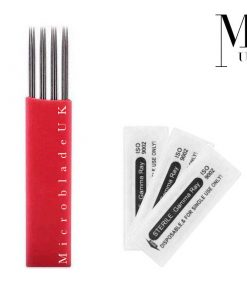 Microblades - Premium Blades for SPMU Microblading Needles - 4 Group Double