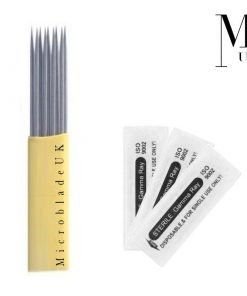 Microblades Blades SPMU Microblading Needles Ombre Powder Double Row Mag Shader