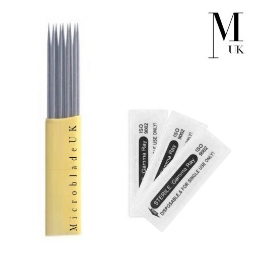 Microblades Blades SPMU Microblading Needles Ombre Powder Double Row Mag Shader