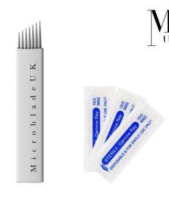 Microblades - Premium Blades Microblading Needles - Flex Fine Nano PCD Steel