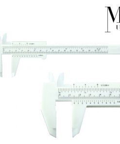 Microblading Ruler Gauge Extendable SPMU Calipers Eyebrow Measuring Black/White