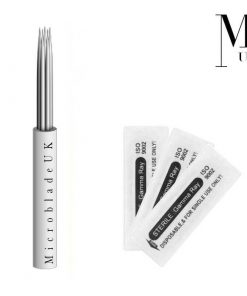 Microblades - Blades Microblading Needles - Round Bunch Shader RL RS Powder