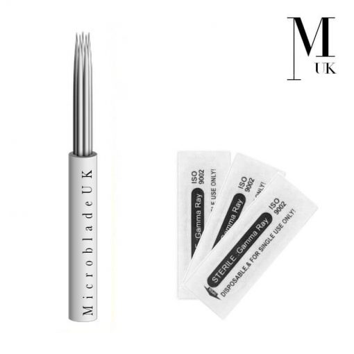 Microblades - Blades Microblading Needles - Round Bunch Shader RL RS Powder