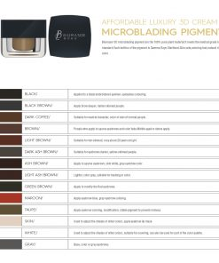 microblading pigment shades