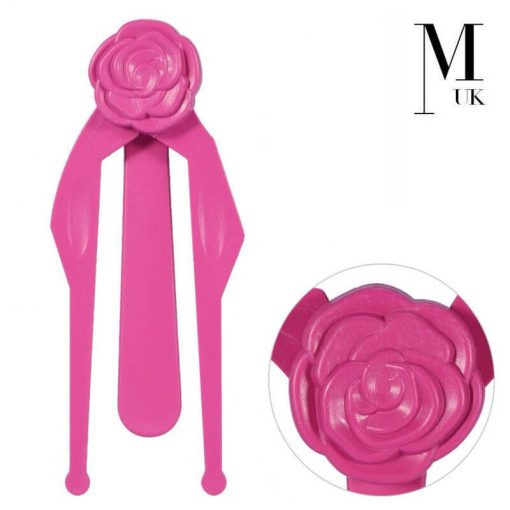 Microblading Rose Ruler Gauge Symmetry SPMU Calipers Eyebrow Measuring Tool Pink
