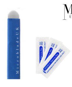 Premium Blades Microblading Needles Blue