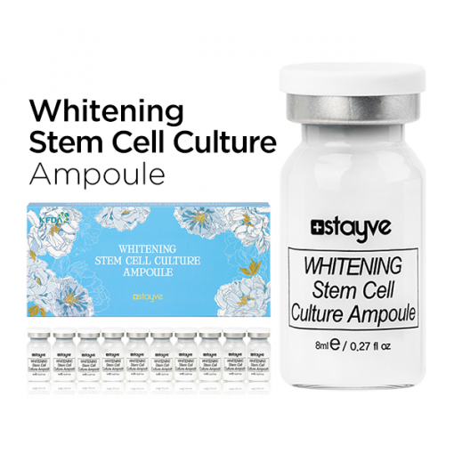 Stayve Whitening Stem Cell Culture Ampoule with niacinamide.