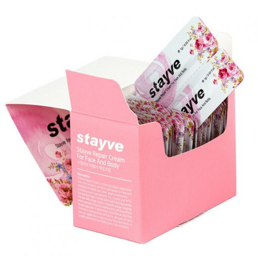 Stayve Aftercare sachet box Healing cream